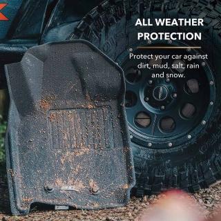 Westin | Profile Tapis Protecteurs Avant/Arrière - Audi A4 Sedan 09-16