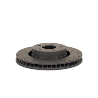 PERRIN | Lightweight Crank Pully Black - FA-FB Engines