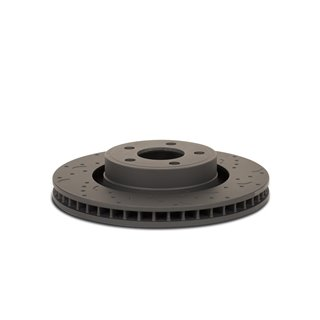 PERRIN | Crank Pulley Noir - EJ Engines without A/C