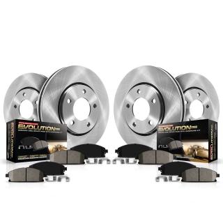 EBC Brakes   Greenstuff 2000 Series Sport Brake Pads - Edge 2.0T / 2.7T / 3.5L 2015-2018