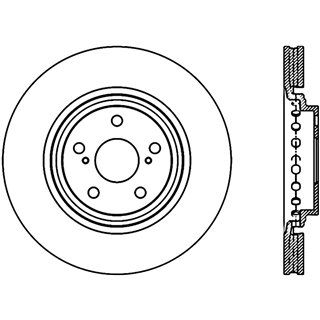 Hawk Performance   HPS Disc Brake Pad - BMW 2013-2019