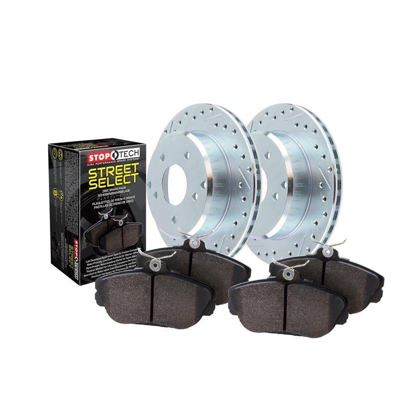 PowerStop | Next Gen Carbon Disc Brake Pad & Rotor Kit - C250 / C300 / C350 1.8T / 3.5L 2008-2015