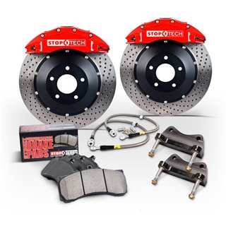 PowerStop | Next Gen Carbon Disc Brake Pad & Rotor Kit - Audi / Volkswagen 2015-2019