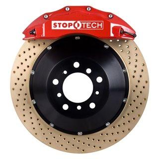 PowerStop | Next Gen Carbon Disc Brake Pad & Rotor Kit - MDX / Traverse / Pilot 2008-2018